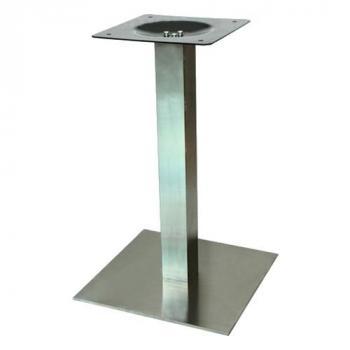 Asztalláb központi Strong 450x450 nemesacél
