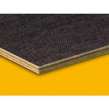 BFU-100, DIN 68705, víz- és főzésálló Nyír 1250x2500x6,5 mm csúszásmentesített rétegelt lemez