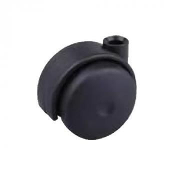 Görgő 45mm fekete (talp nélkül)