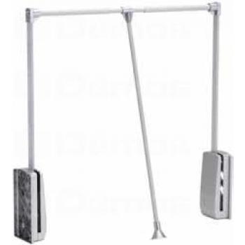 Ruhalift 60-83 cm ezüst-alumínium