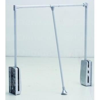 Ruhalift 89-125 cm ezüst-alumínium