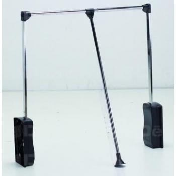 Ruhalift 89-125 cm fekete-króm