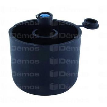 Szintezőláb fém + műanyag fekete 40mm 100kg teherbírás