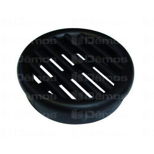 Szellőző karika rácsos 35mm fekete